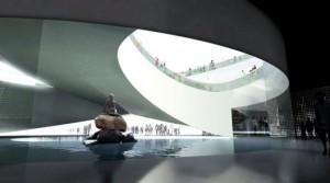 Inside the Denmark's Pavilion