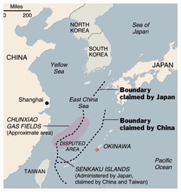 Chinas Territorial Disputes in the South China Sea and East China