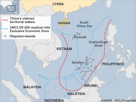 China\'s Territorial Disputes in the South China Sea and East China ...