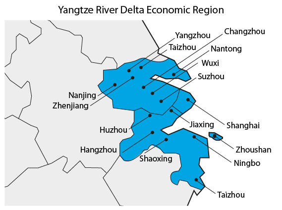 Yangtze River Delta Economic Region