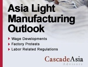 Outlook on Light Manufacturing in China: July 2015