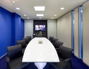 Boardroom at Servcorp Chengdu OAC