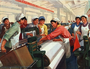 Female employment China
