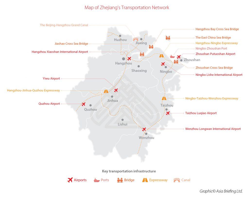1-Map-of-Zhejiang's-Transportation-Network