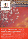 China's Free Trade & Double Tax Agreements Cover 90x126