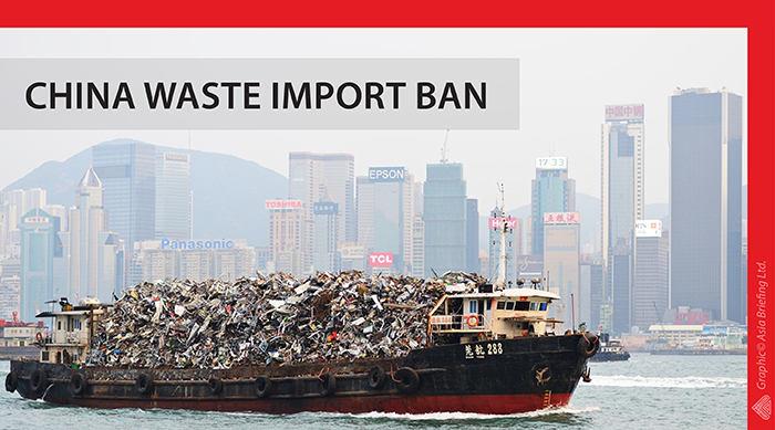 China Bans Imports Of Foreign Waste To Combat Pollution China Briefing News