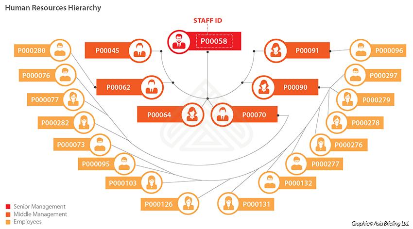 HR hierarchy