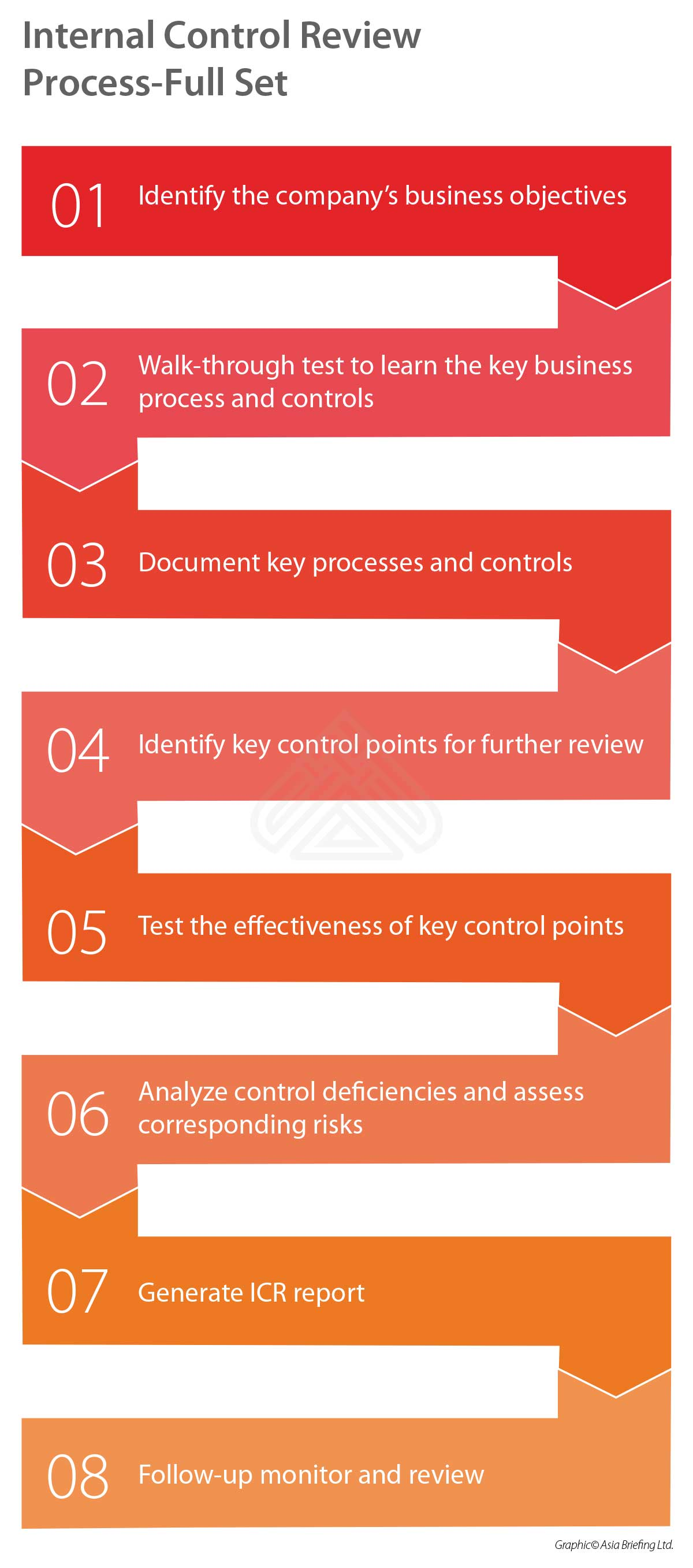 Internal Control Review Process