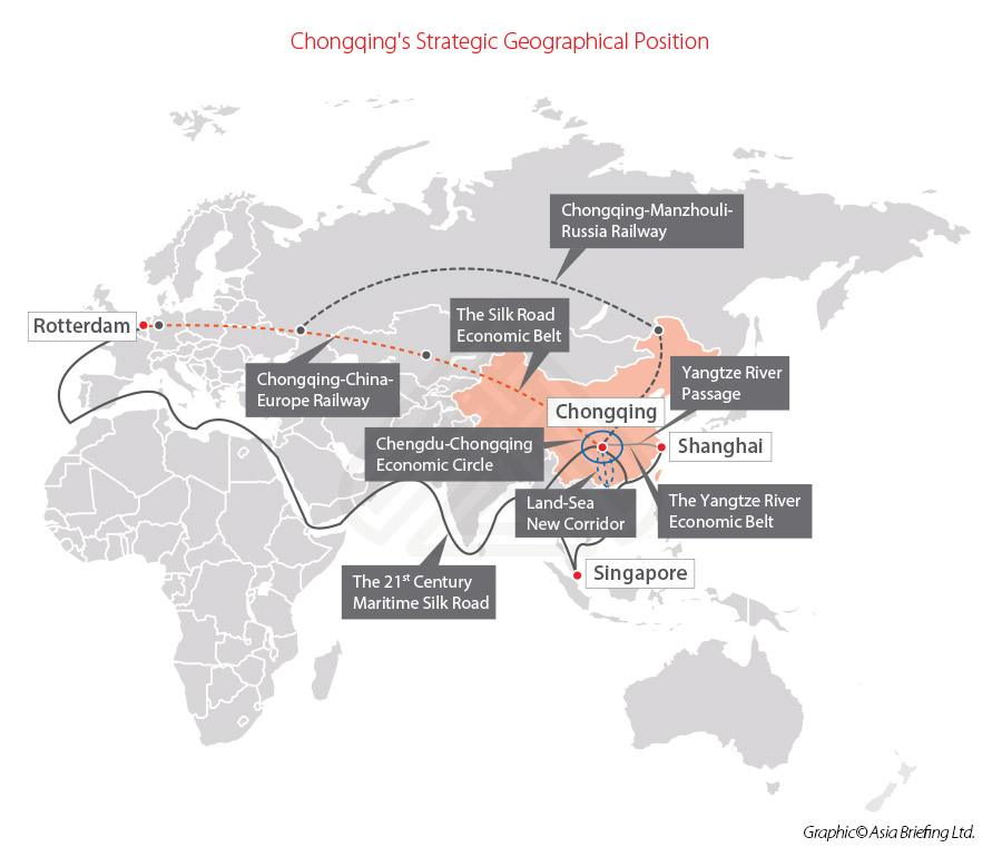 Chongqing-strategic-geographical-position